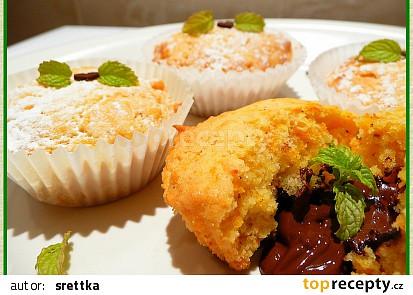 Kořeněné muffinky s mrkví a pomerančovým rozvarem