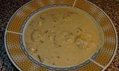 Kyselá polévka se smaženými vajíčky