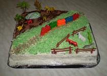 Mašinka a Safari - dorty