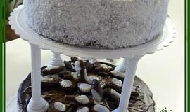 Patrový čokoládový dort s mušlemi