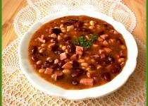Rychlá fazolová polévka z polotovarů