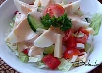 Salát se švýcarským dresinkem