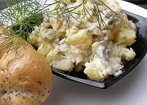 Slanečkovo bramborový salát s koprem