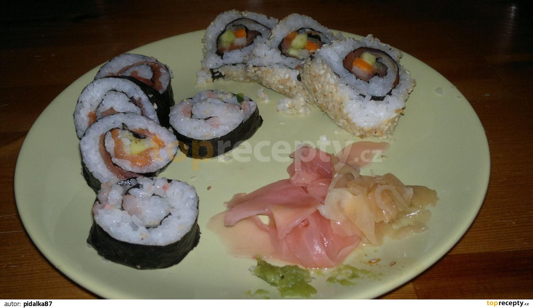 how to make sushi maki rolls