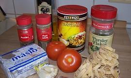 Těstoviny pomodoro