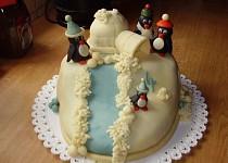 3D - Iglů s tučňáky