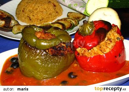 Arabské  plněné papriky