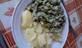 Brokolice se žampiony