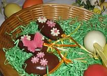 Čokoládová vajíčka pro koledníky