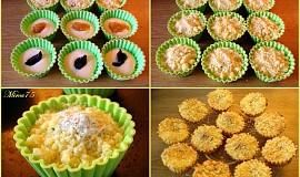 Drobenkové muffinky s tvarohem