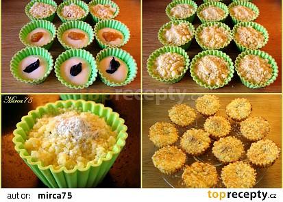 Postup přípravy muffin