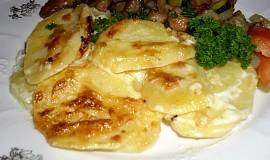 Gratinované brambory z Francie