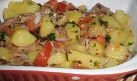 Italsky  bramborový salát