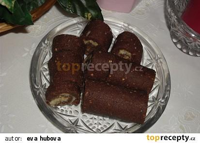 Kokosová roláda (nepečená)