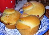Kynuté muffiny s kakaovým pudinkem