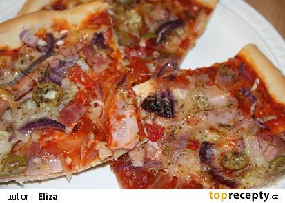 Lehká pizza