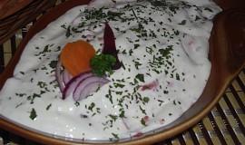 Levný salát s rybou