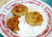 Placky z bramborové kaše