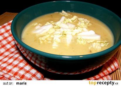 Polévka s čínským zelím