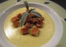 Pórková polévka s Hermelínem
