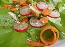 Salát s balsamicovou zálivkou