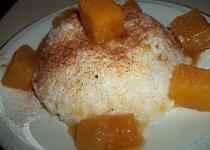 Sladká rýže s dýní
