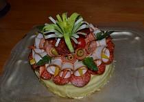 Slaný narozeninový dortík