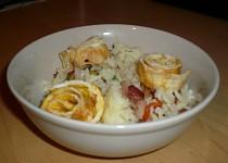 Smažená rýže s omeletou