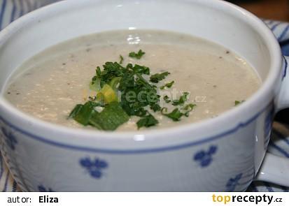Studená lilková polévka