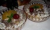 Tvarohová rýže s kompotem