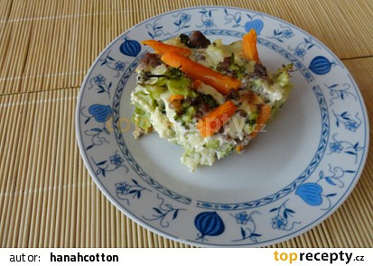 Zeleninovo masový pekáček