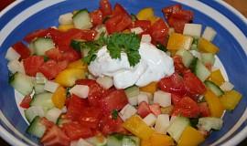 Zeleninový salát....