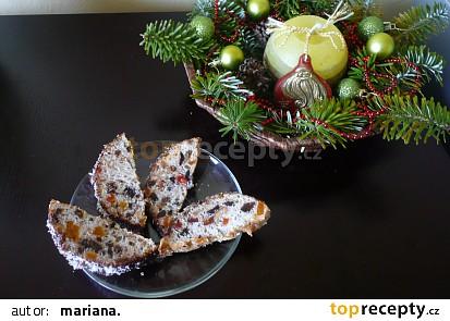 Bílkový chlebíček s nesířeným ovocem