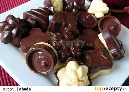 Čokoládky na sušence