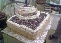 Další dort pro Ladika