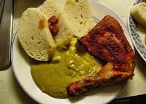Kadlíkovo kuře na smetaně