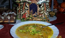 Maminčina vánoční rybí polévka