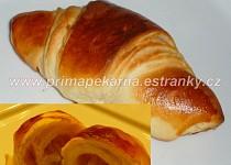 Máslové croissanty s omládkem
