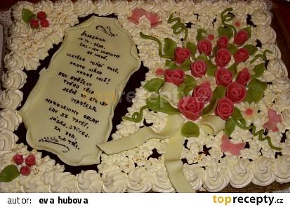 Narozeninový dort 4