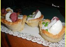 Ruské vejce v toastové mističce