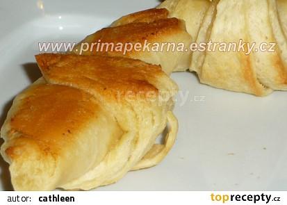 Slané máslové croissanty