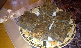 Sypaný makový koláč