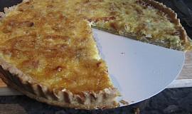 Sýrovo-slaninový quiche