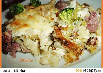 Zapečená spirálková brokolice