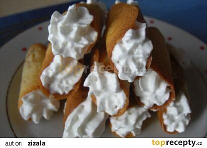 Ananasové trubičky