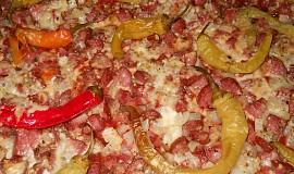 Bramboráková pizza z Osíka