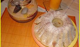 Bramborová bábovka s ořechy