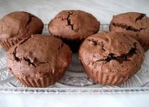 Čokoládové muffiny bez lepku, mléka a vajec