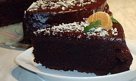 Čokoládový pivní dort