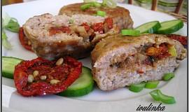 Karbanátky plněné hlívou a sušenými rajčaty